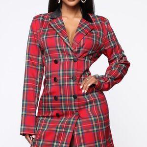 Fashion Nova Blazer dress